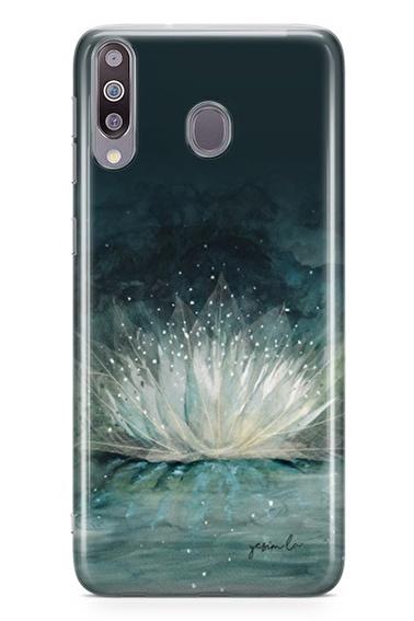 Lopard Samsung Galaxy M30 Kılıf Nilüfer Kapak Renkli